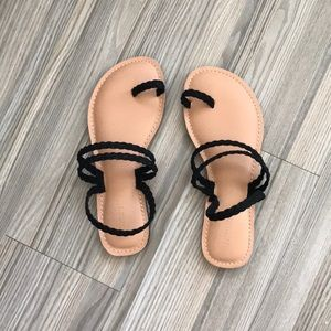 NEW Braided strappy sandals